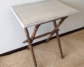 Lovely old side folding table