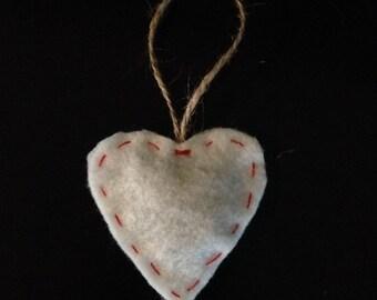 Lemongrass Heart Sachet (Set of 3)
