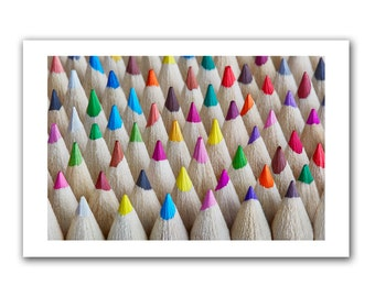 abstract pencils art colour print,unframed print,wall art,photography print,photo,canvas,10x8in,20x16in,24x16in,30x20in,free uk shipping.