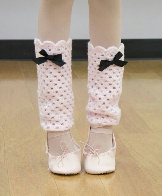 Pink Leg Warmers Little Girls Leg Warmers Crochet Leg