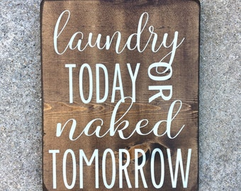 Laundry room sign, Wood signs, Laundry room decor, signs for the home