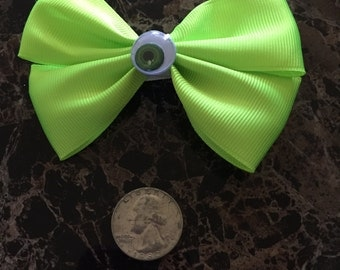 Mike Wazowski hair bow Monsters Inc.