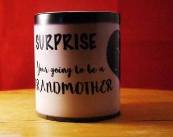 PERSONALISED SURPRISE mug, Secrets Reveal mug, Colour changing 11oz mug, Magic