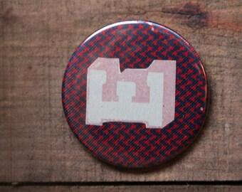 Letter E Alphabet Badge