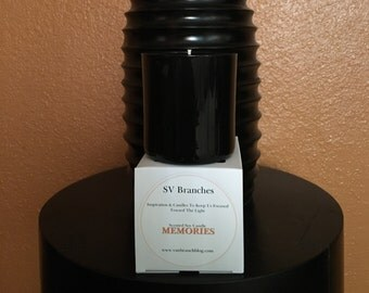 Scented Soy Candle- MEMORIES