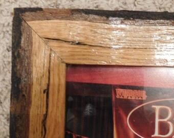 8x10 Beveled Rustic Oak Frame (#5330)