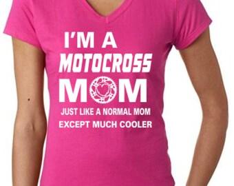 Mom Motocross Motorcycle T-Shirt