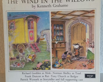 The Wind in the Willows Kenneth Grahame 2LP Vinyl Box Set