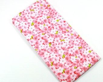 PINK flower bag, sunglasses bag, eyeglasses bag, Pink flower bag, Snapon bag