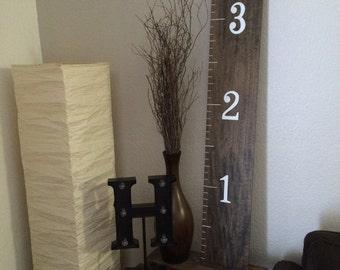 Ruler Sign, wooden ruler, measuring stick
