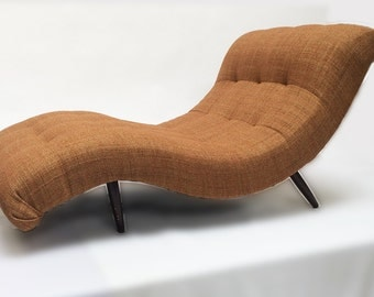 Adrian Pearsall Wide Wave Mid Century Lounge Chair