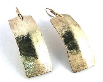 handmade pendant earrings hammered brass hammered brass earrings handmade crafts