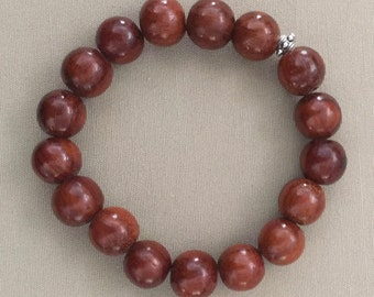 Koa Wood Stretch Bracelet
