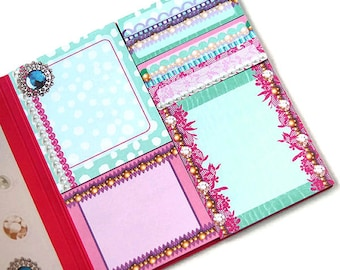 Sticky notes book, stickynotes, page flags, page markers, planner flags, planner accessories, planner supplies,