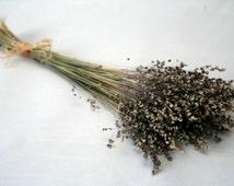 LUXURIOUS UNIQUE Natural dried GRASS bouguet-Flower arrangement- Rustic Natural home decoration-Craft supply-Rustic wedding Green Grass