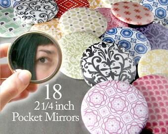 18 Bulk Pocket Mirrors Baby Bridal Shower Favors