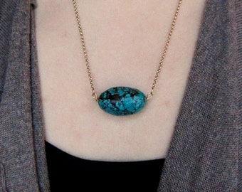 Genuine Turquoise Layering Necklace