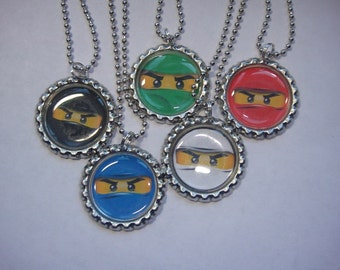 Ninjago Necklaces Set of 5