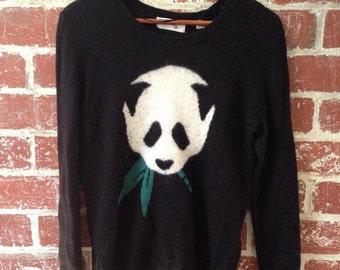 panda grunge 90s style jumper