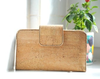 "Vegan purse ""Natural cork"""