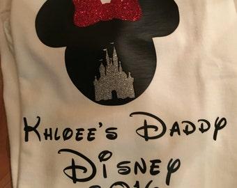 Disney t-shirt  any size any names