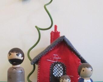 Jack and the Beanstalk Peg Doll set