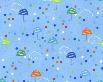 Michael Miller Drizzle in Spring Fat Quarter