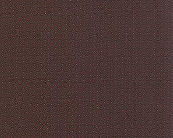 Fabric / Quilting Fabric / Alices Scrap Bag / Chocolate Brown / 8310 13 / Moda #1