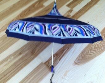 Vintage beautiful mod umbrella