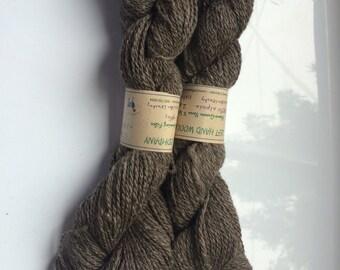 Alpaca 2-ply Yarn Colorado-Grown Natural Color 200 yds 3oz.