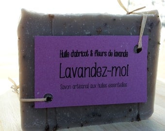 "The ""Lavandez-I"", handmade soap with Lavender"