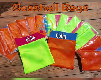 Seashell Bag, Beach Tote, Beach Bag
