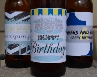 Birthday Beer Labels Printable