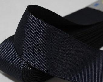 10 meters 10.93 yrds - 10/20/30/40mm Black Grosgrain Ribbon - Ribbon - Strong Thick grosgrain -