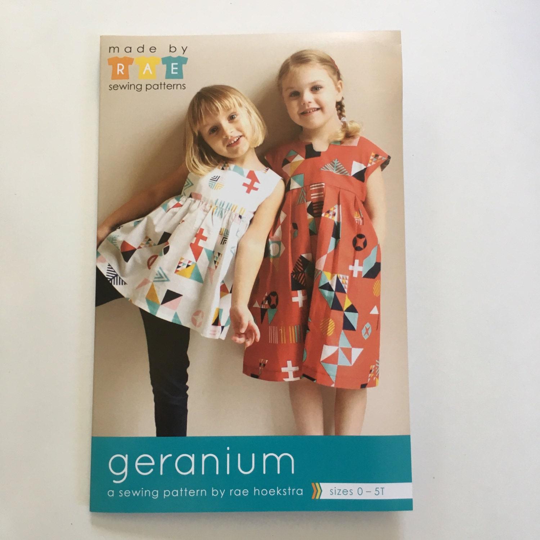 Geranium dress pattern geranium pattern childrens clothing 1200 jeuxipadfo Choice Image