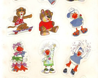 Suzy Zoo's Sticker Sheet Sold By Current  1990's