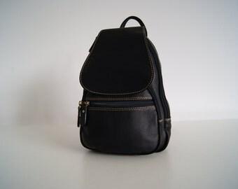 Genuine leather woman bag backpack (brown, black, red, camel)