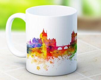 Rome Skyline Italy Italian Cityscape - High Quality Coffee Tea Mug