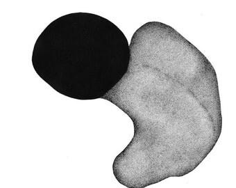 Stippling Art - Original pen & ink drawing