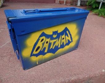 Batman Lunch Box / Ammo Box / Storage Container