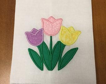 Tulip Linen Tea Towel