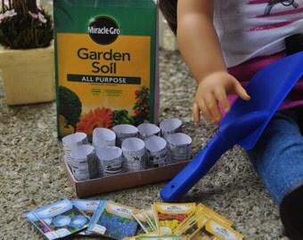 American Girl Doll (18 inch Doll) Gardening Set