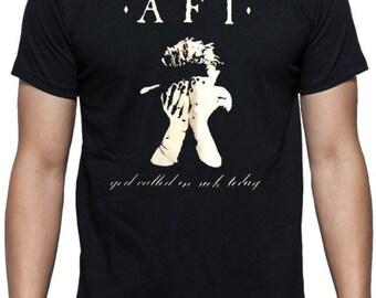 AFI t shirt NEW punk rock metal 90's cool hipster emo gothic retro hip vintage