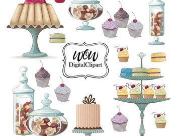 Cake Clipart, Cake Clip Art, Digital Cake, Wedding Cake, Clipart Birthday, Cake Clip Art, Cake Digital,  party cake, birthday party 0042