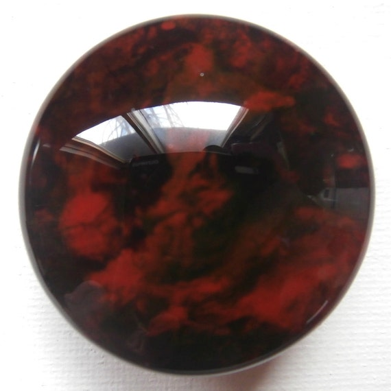 Custom One Of A Kind Furniture And Cabinet Knobs Black And Red From Lauriebrennancreates On Etsy