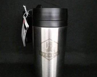 Custom Hand Etched Thermos