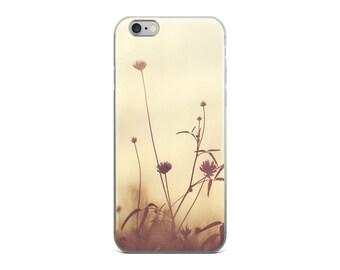 Purple Dandelion Flower iPhone 6 Case, Floral iPhone 6 Case, Best Flowers iPhone 6s Plus Case, Vintage iPhone Case, I Love You Gift
