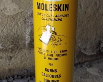 Vintage Dr Scholl's Moleskin Tin, Dr Scholl's, Vintage Tin, Pharmacy Tin, Dr Scholl's Moleskin Plaster