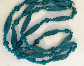 Beautiful Vintage Turqouise Long Necklace