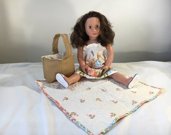 """18"""" Doll Picnic in the Park Outfit"""